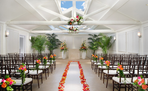 Tropical wedding chapel tropicana lv weddings for Simple vegas weddings