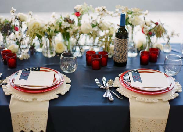 Summer Wedding Trends: Red, White and Blue Weddings – Tropicana LV ...