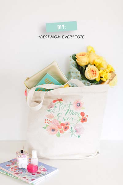 Thank You Gift for Mom to Give at Wedding Best Mom Ever Tote